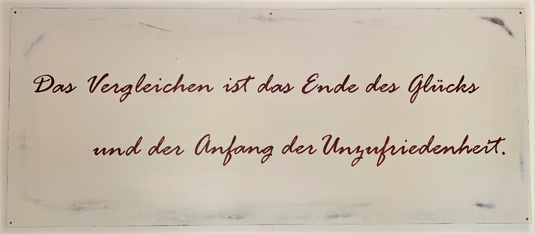 Spruch Roter Raum